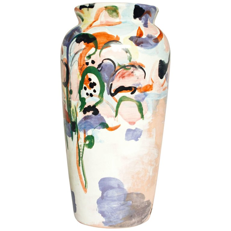 Lorenzo Lorrenzzo ceramic vase from 1stDibs