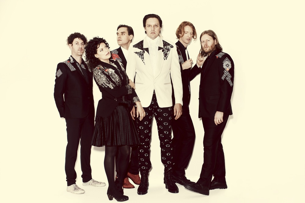 Arcade Fire, copyright Guy Aroch