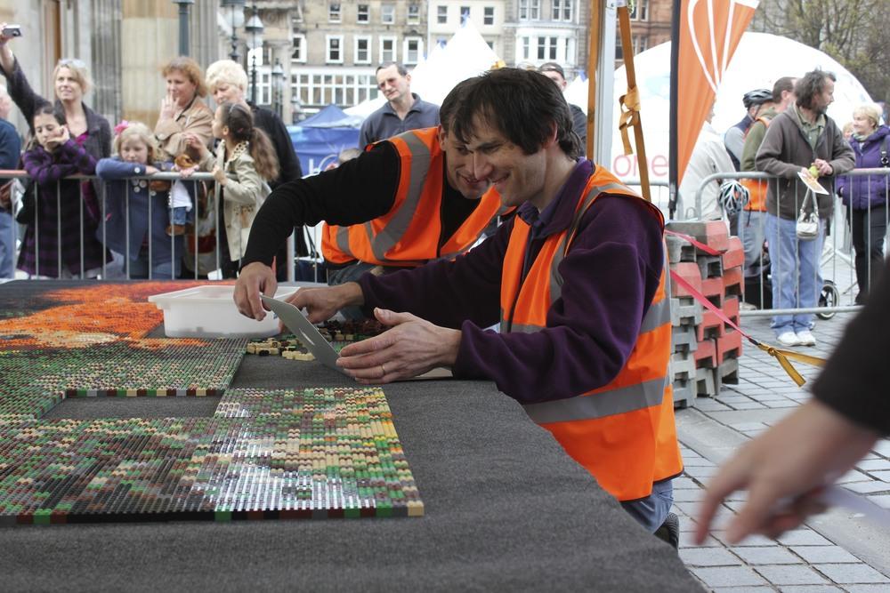 Assembling the mosaic