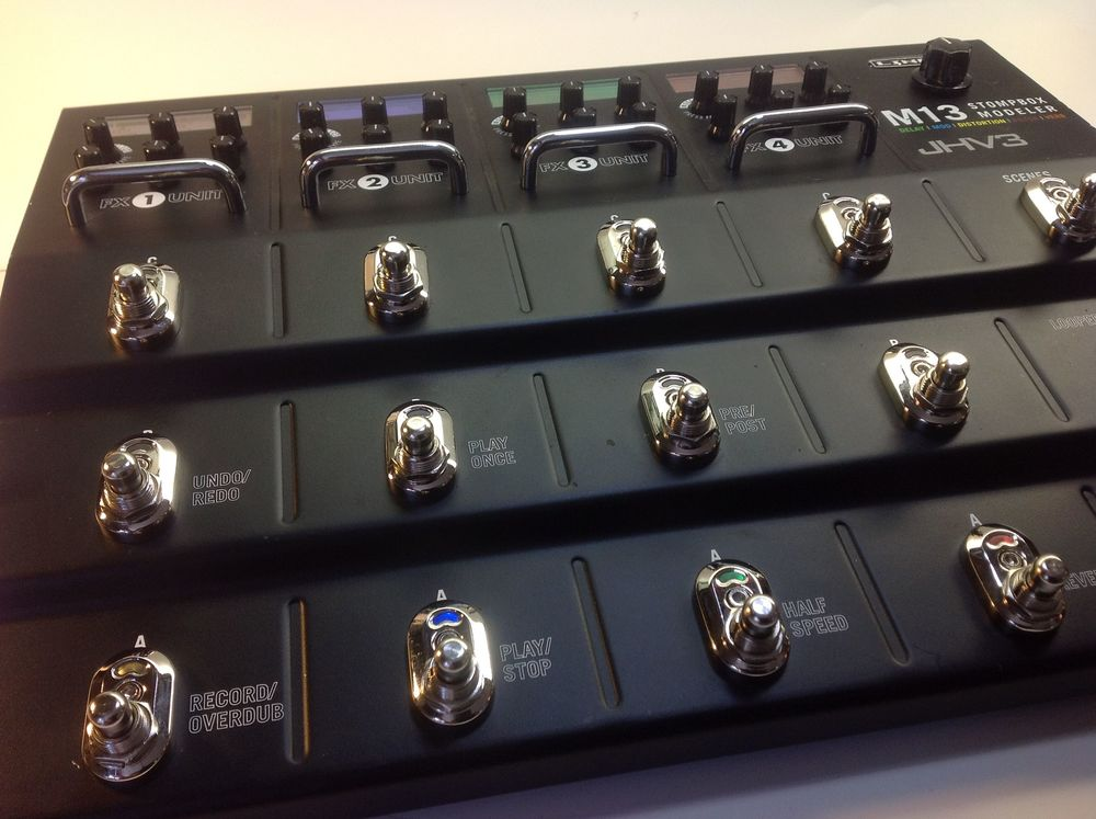 Showing Audio Upgrade and total Replacement Switches. New knob is the total output control for the AU.