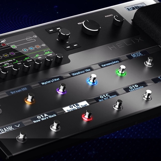This looks really cool! Looking forward to exploring the new @line6 Helix platform #geartalk