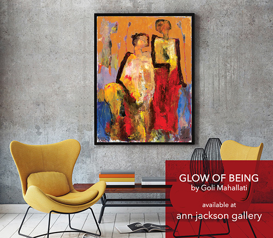 Glow of Being at Ann Jackson Gallery.jpg