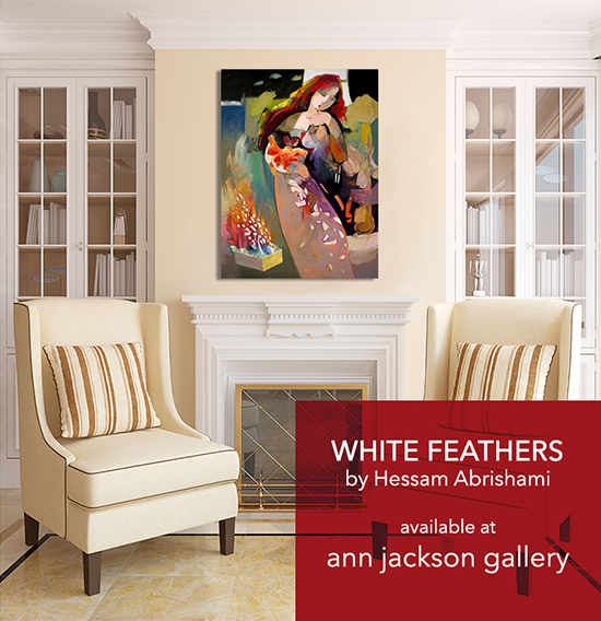 White Feathers at Ann Jackson Gallery.jpg