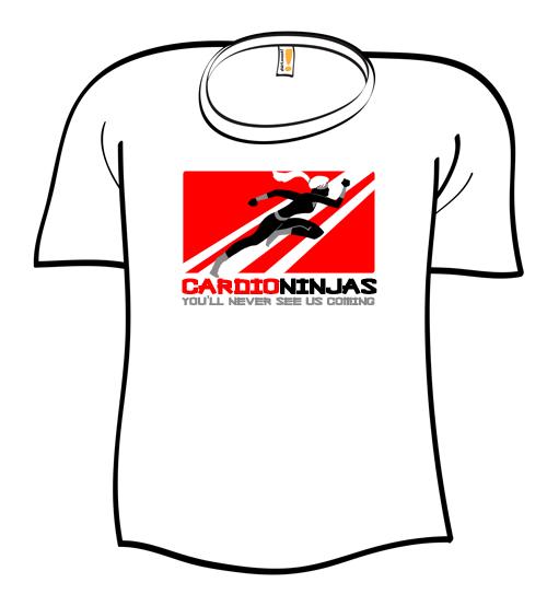 Cardio Ninjas Shirt