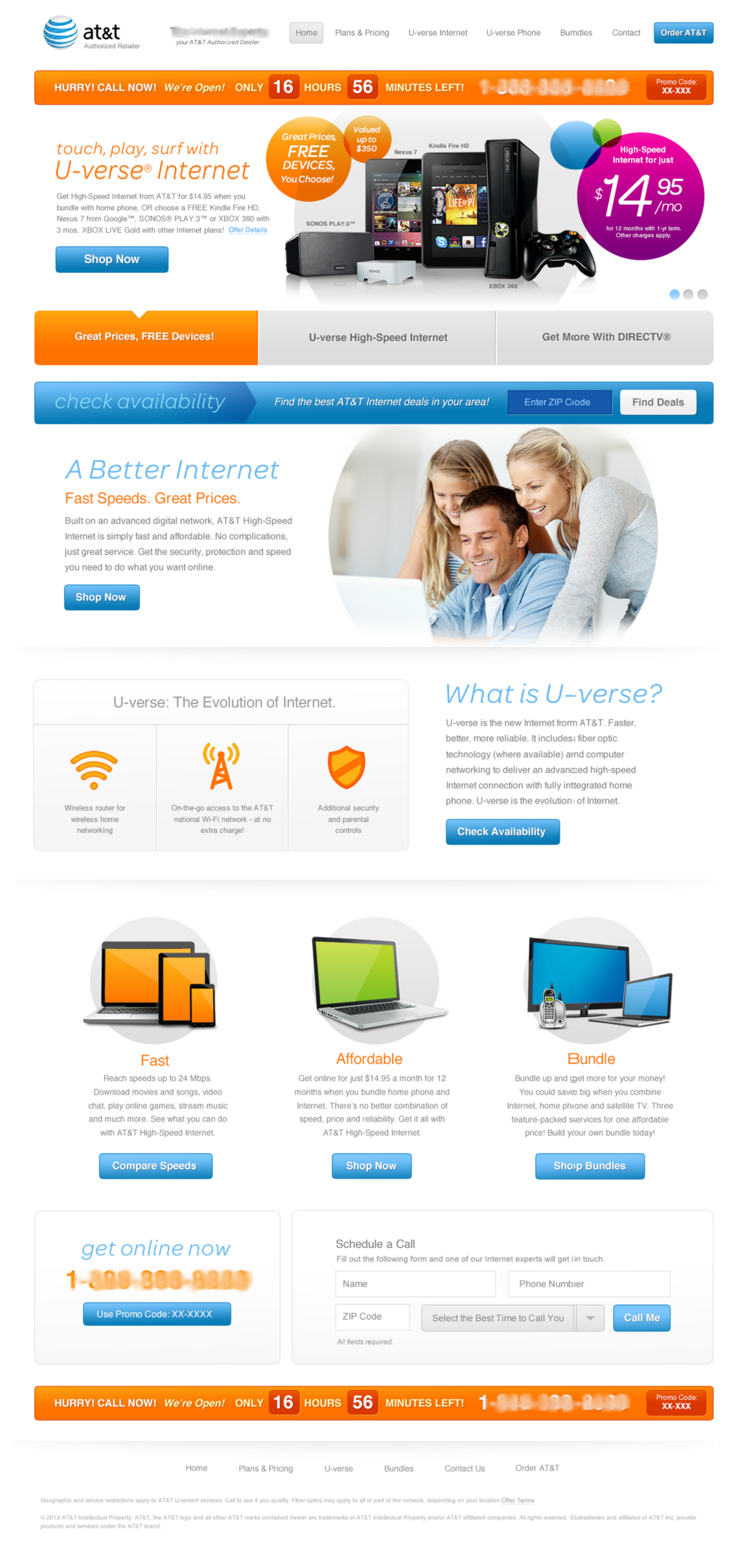 U-verse Internet
