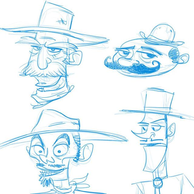 cowboy faces