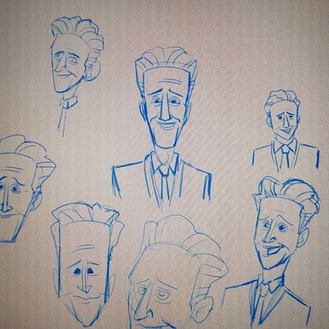 Jon Stewart sketches