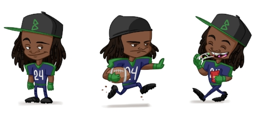 Lil Marshawn for Marshawn Lynch's seattle-based Chocolate bars