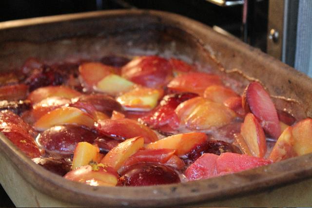 Easy Baked Summer Fruit