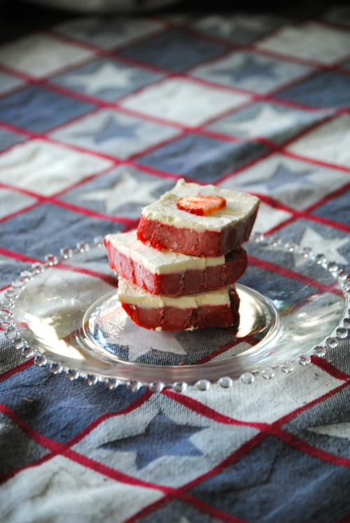 Strawberry and Cream Bars