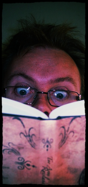 Frå no av skal eg berre lese mine eigne bøker!