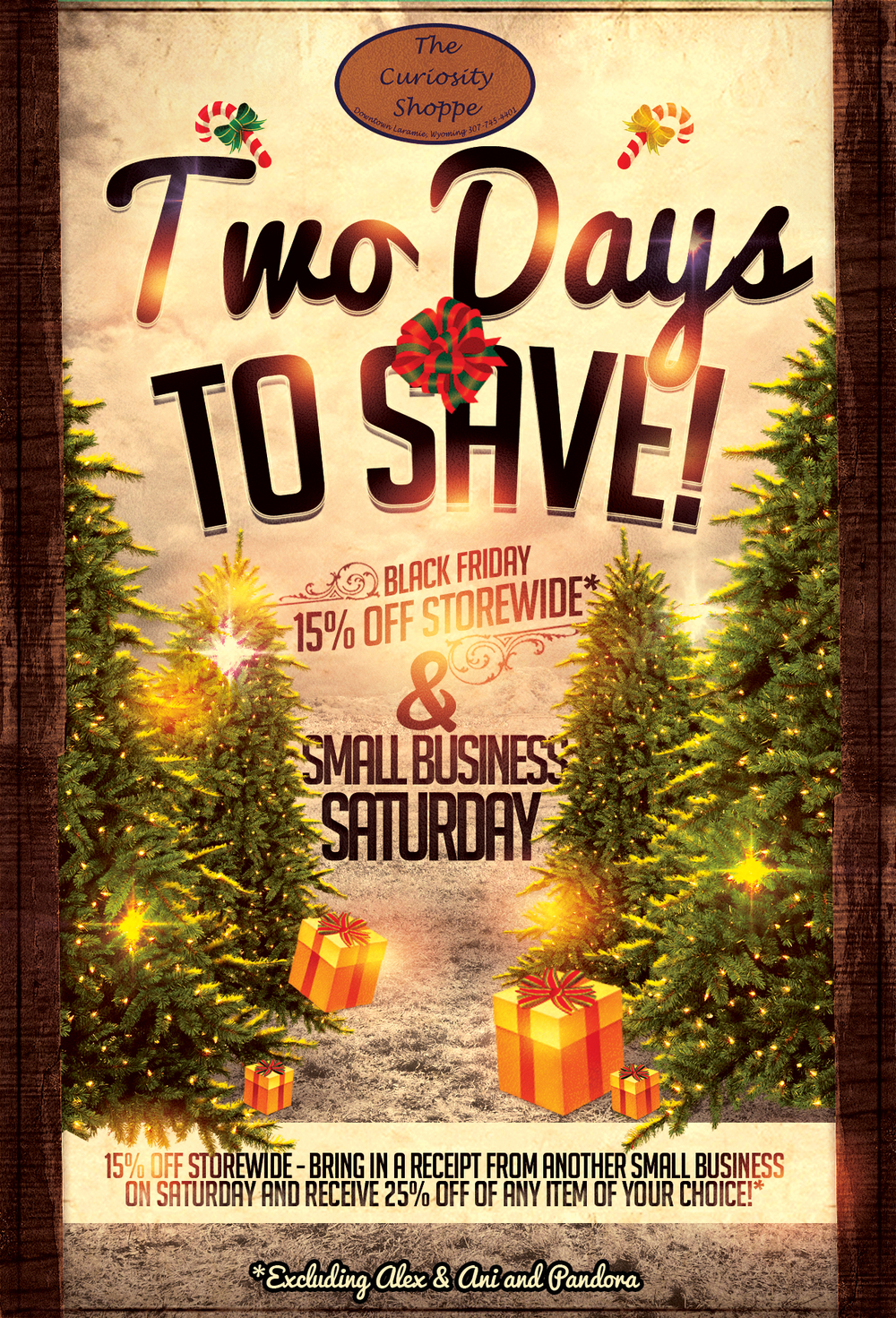 Curiosity Shoppe Two Days To Save Poster