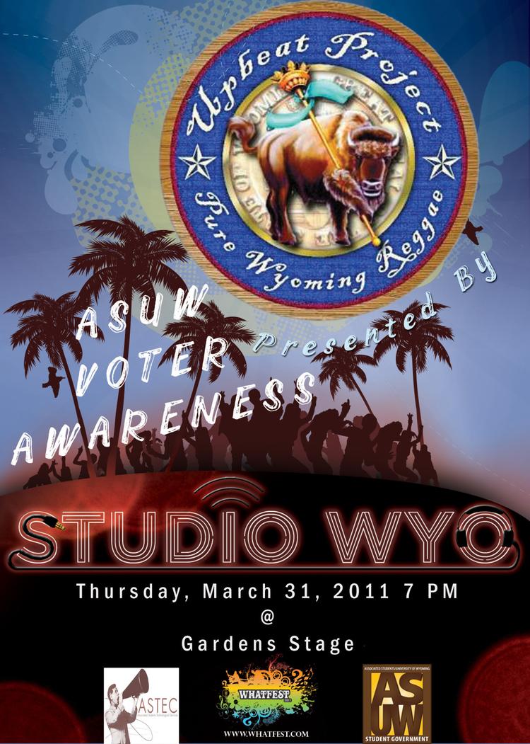 Studio WYO Concert Poster