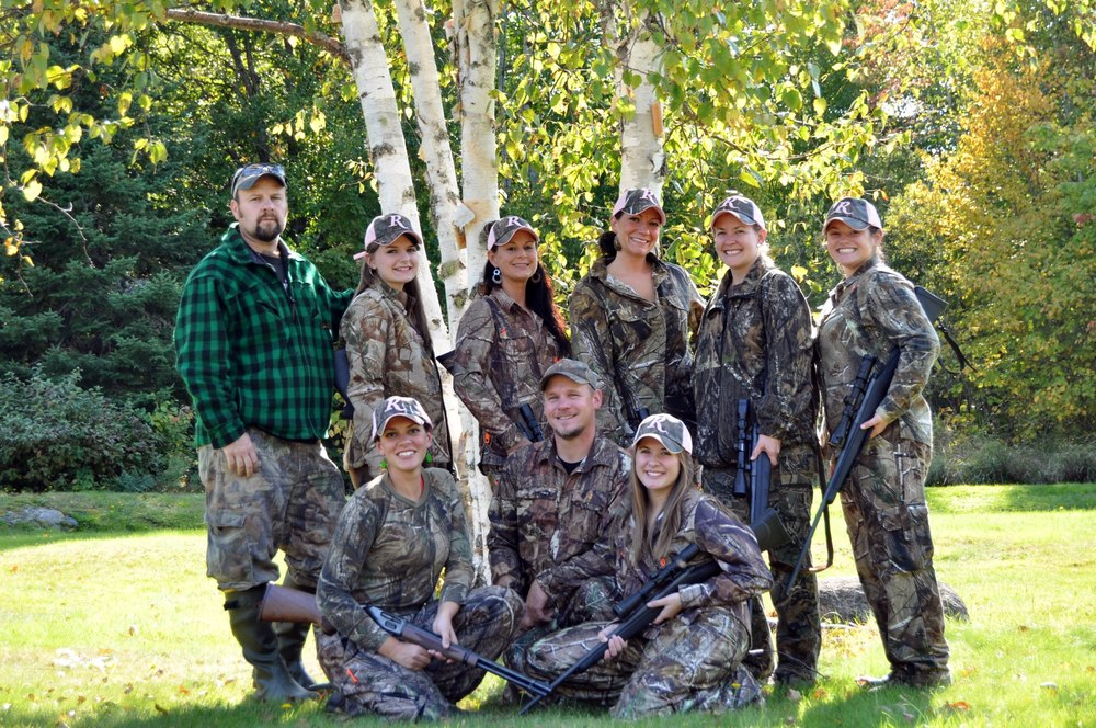 Big Woods Bucks, Remington & Girl Bear Hunt 2012.jpg