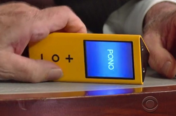 Pono.   From 'Late Night with David Letterman'