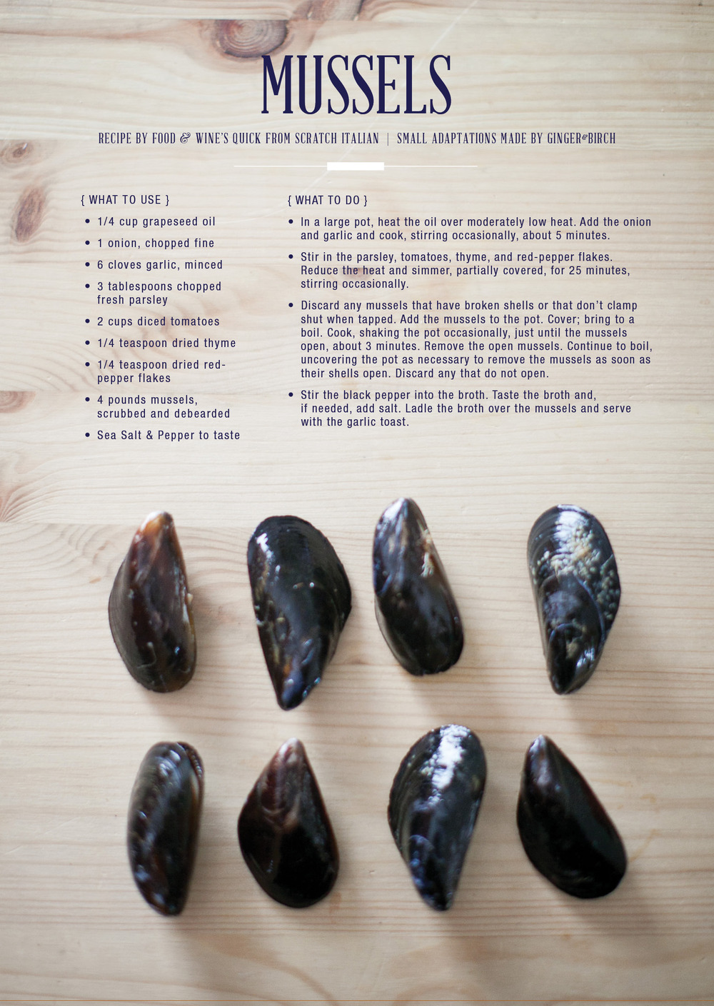 recipe by food & wine  |  image by lily glass