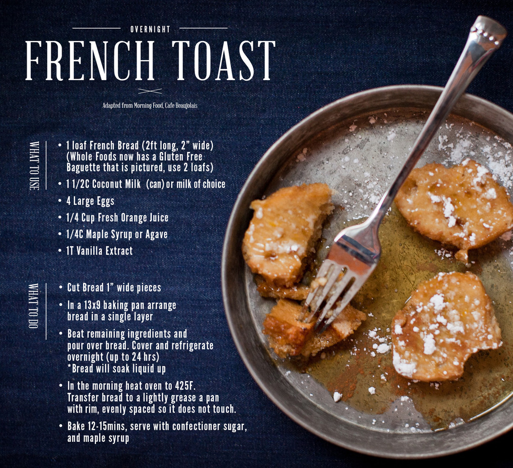 recipe adapted by gingerandbirch from Morning Food by Cafe Beaujolais  |  images by lily glass