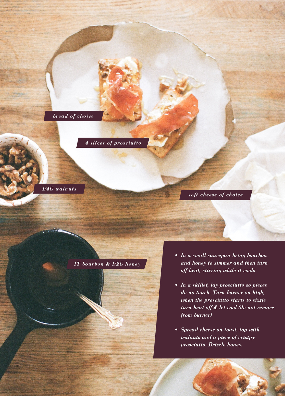 recipe by gingerandbirch | (film!) images by lily glass photography
