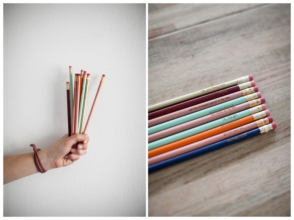 sassy pencil sets by hart & honey