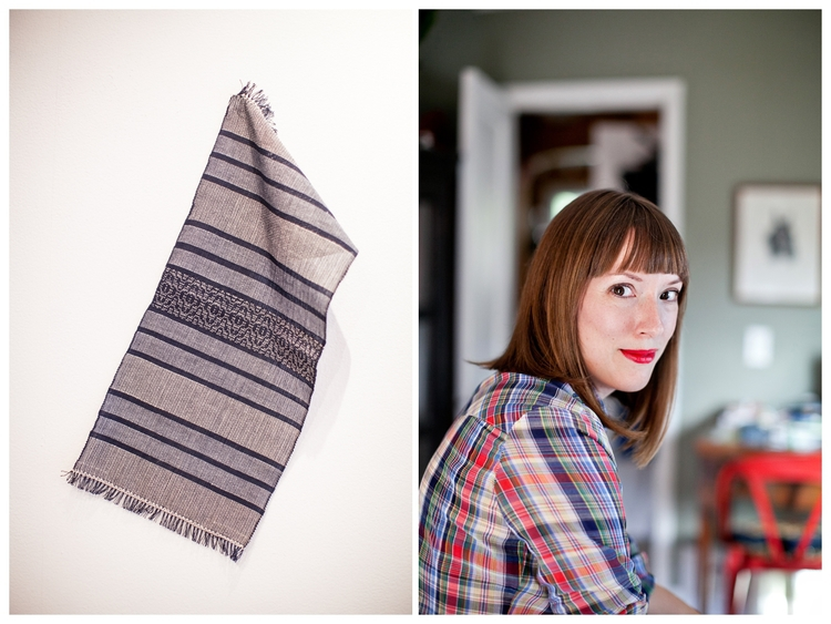 hand woven textiles by nichole of Smartlee Handmade