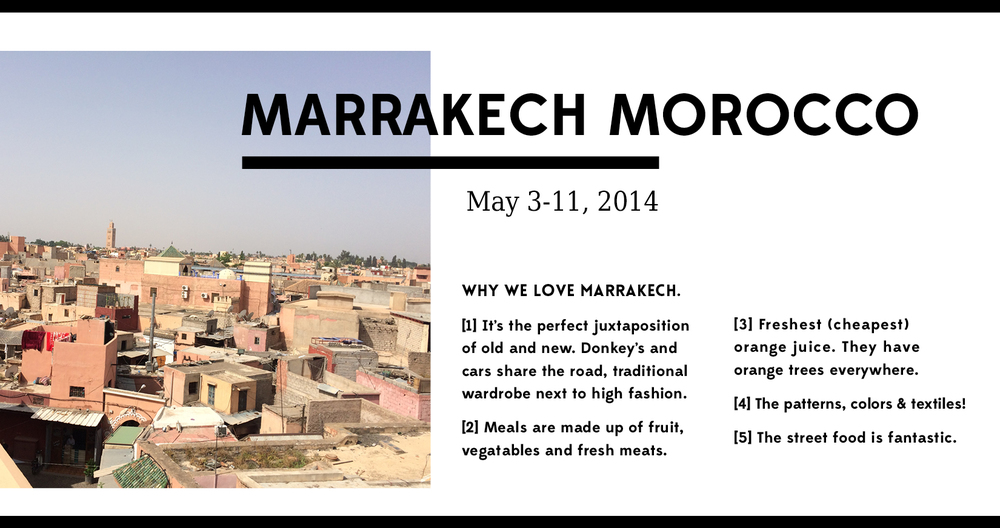 Marrakech Morocco Guide