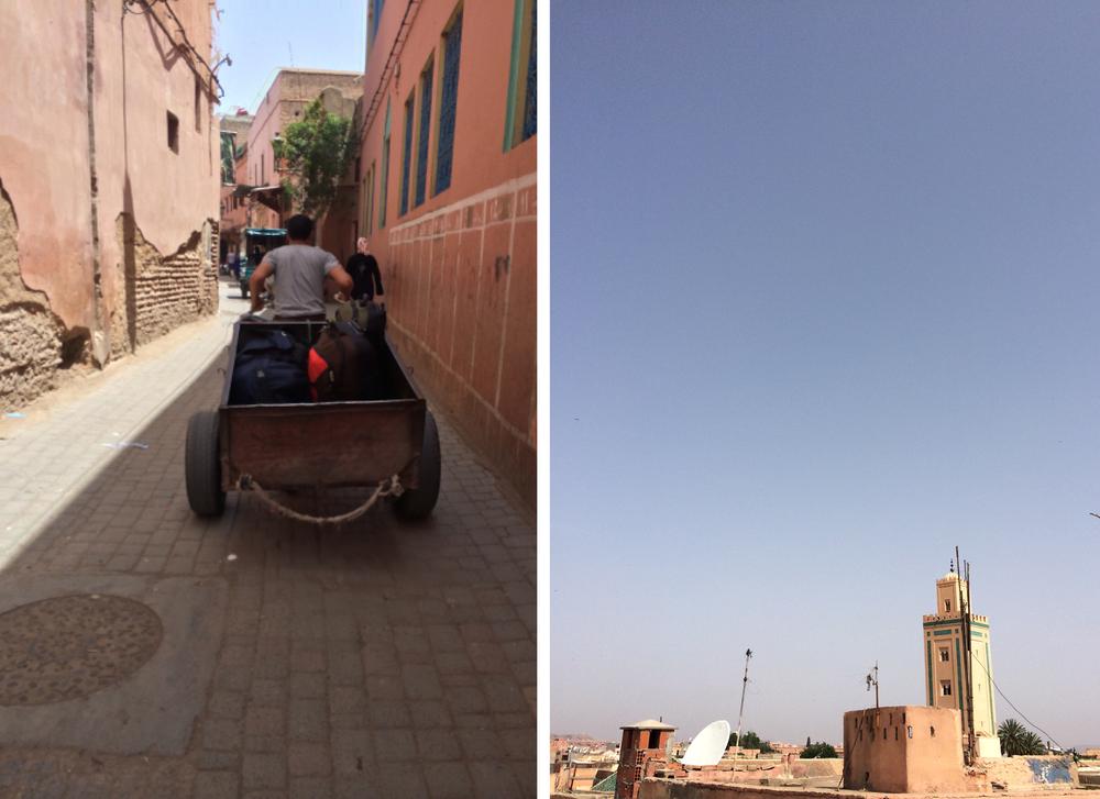 Street scenes - Marrakech Morocco
