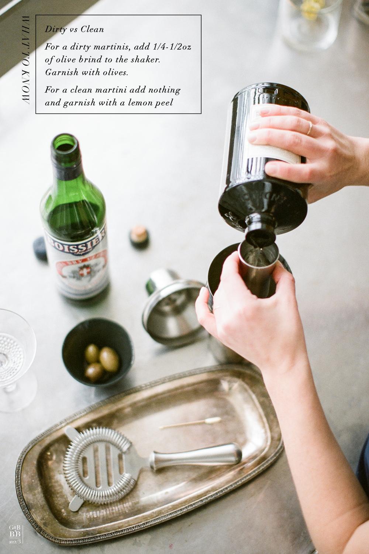classic cocktail : martini