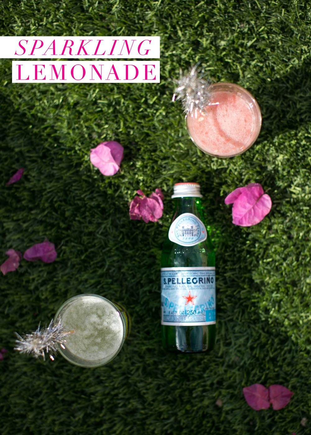 sparkling grapefruit & lemon soda / photo: lily glass for ginger & birch