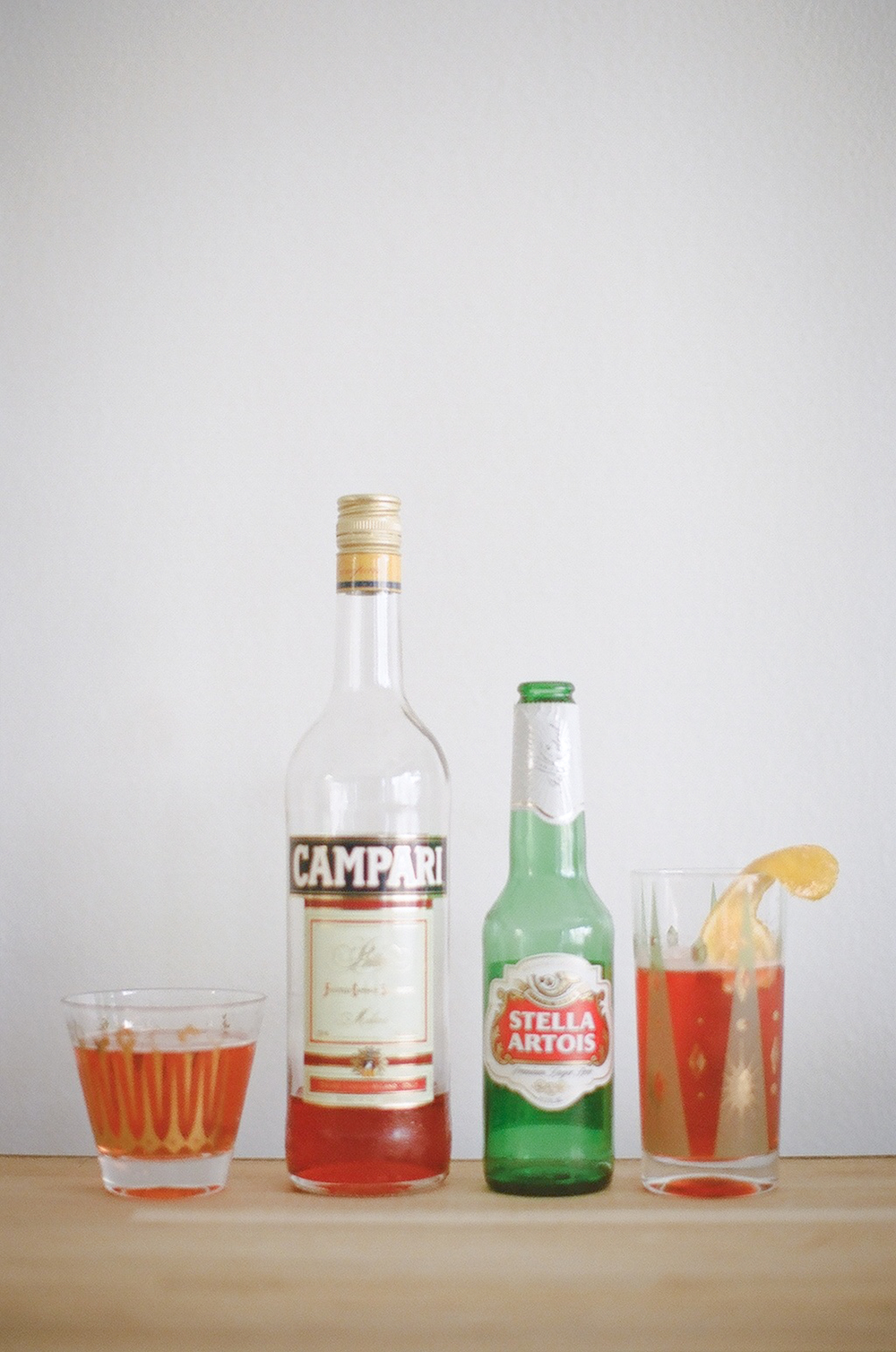 Campari & Stella / gingerandbirch.com / lily glass photography