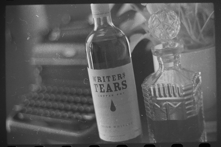 "Speaking of Writing... If you're into a good Irish Whiskey, we've been digging ""Writer's Tears"" lately."