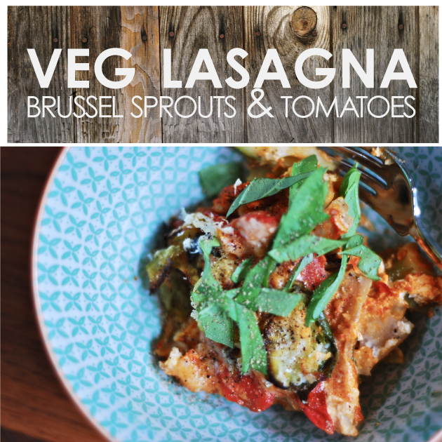 Fresh Organic Veggie Lasagna