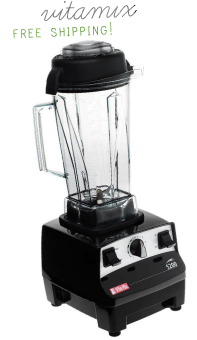 A high speed blender is a must-have if you want to maintain a PURE diet. Vitamix is my favorite. You will get your money's worth with this fabulous machine. CLICK HERE TO BUY NOW - Get free shipping & handling {$25 savings} using PUREmamas code: 06-008369 at checkout