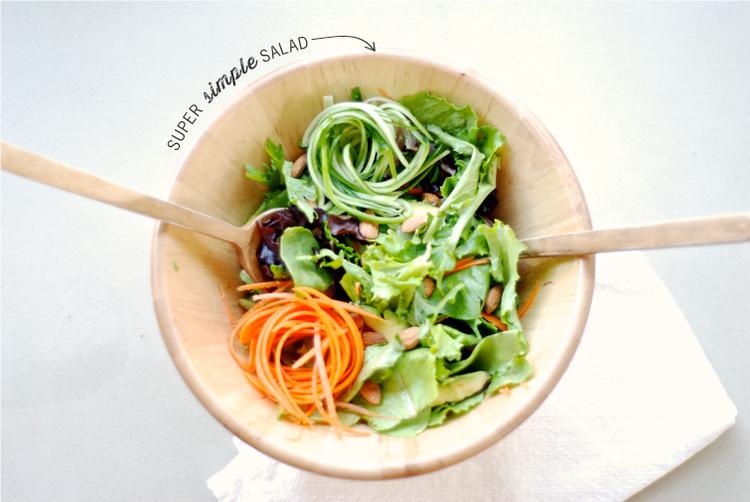 Simple Salad Dressed To Impress