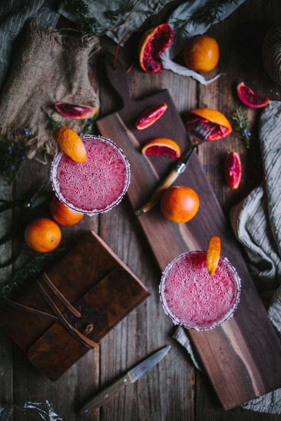 Blood Orange Margs // via DesignLoveFest