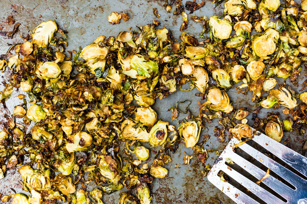 Roasted Brussel Sprouts | #puremamas | vegan gluten free