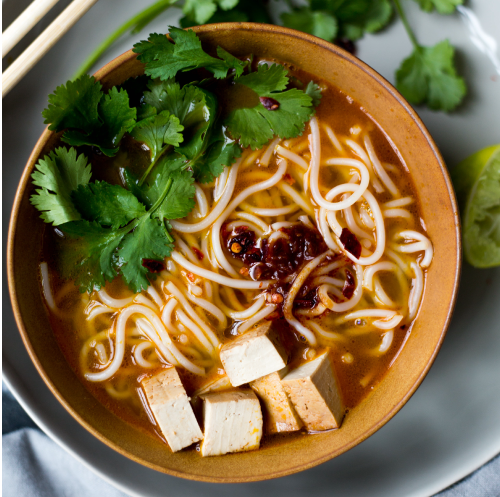 Tangy Lime Broth with Laksa Noodles