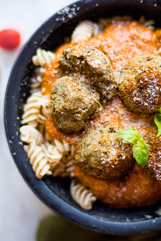 Simple Lentil Meatballs