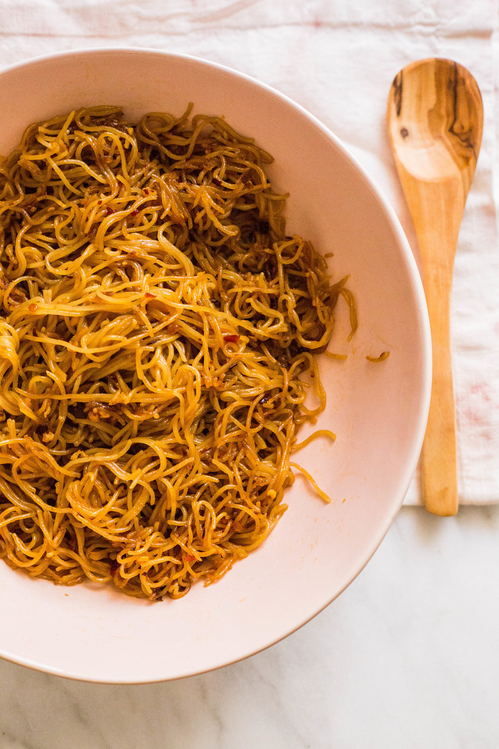 to-die-for sautéed noodles [vegan & gf]