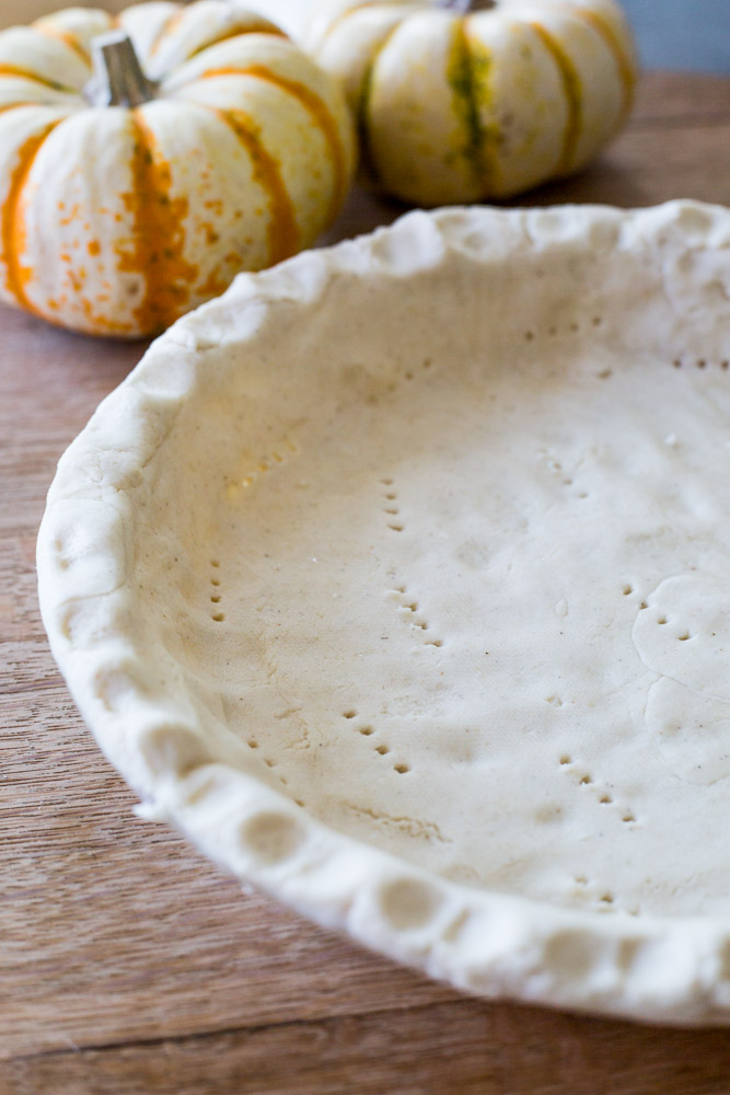 perfect vegan gluten-free pie crust | #puremamas #purekitchen #piecrust