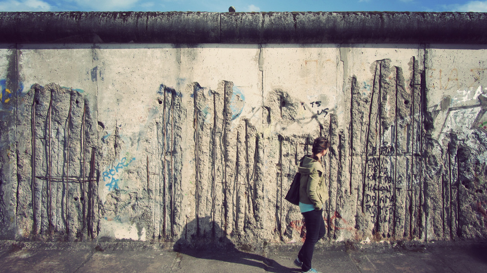 The Berlin Wall - the real deal.