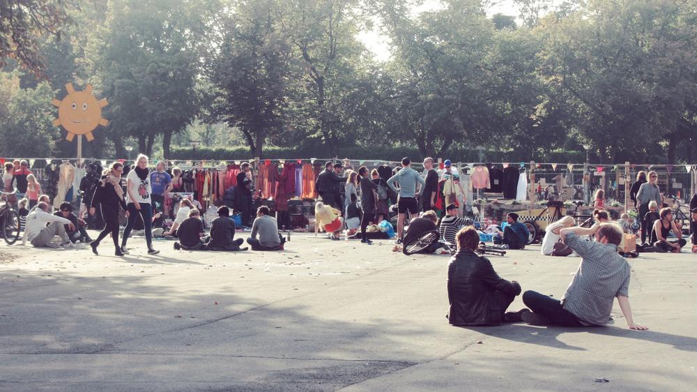 Market at Istegade