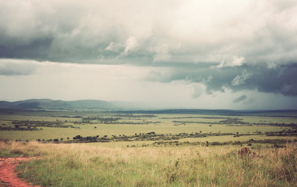 Over the stormy distance and into Tanzania