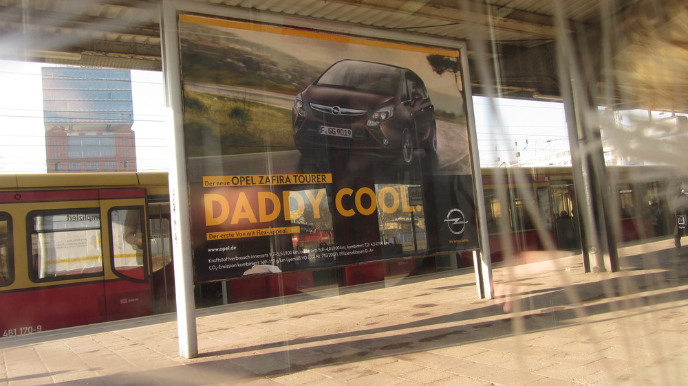 From now on everything is DADDY COOL in a really weird accent.