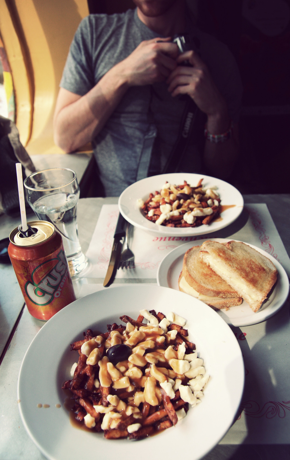 Patati-Patata: Tasty sauce, perfect fries, AND grilled cheese? AND Orange Crush?? I died.