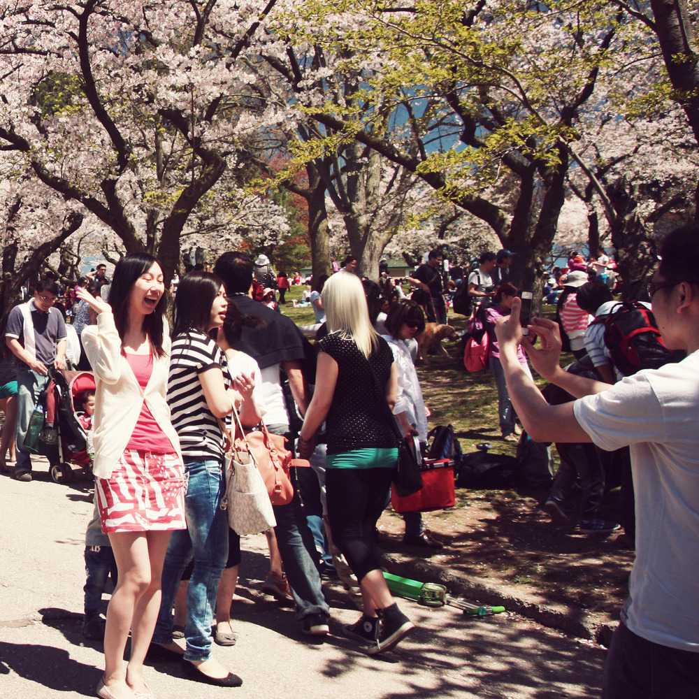 People making over-excited faces next to tree branches could be said to be somewhat more disturbing than a bit of music. I leave it to you to judge which is worse.
