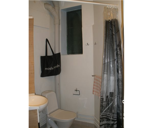 A curtain, for your privacy in case your partner needs to use the sink?