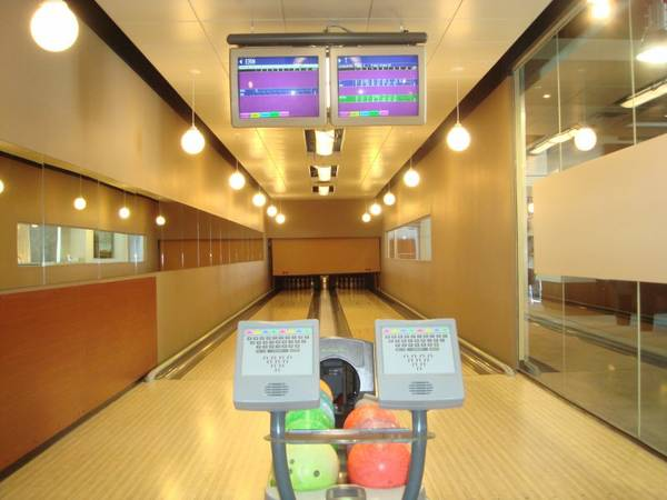 This private bowling alley is what you pay $592 in condo fees for.