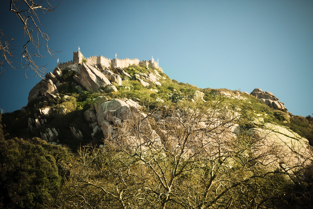 Castelo dos Mouros, an 8th century former Moorish castle, now a ruin c/o Christianity. Thanks Jesus!