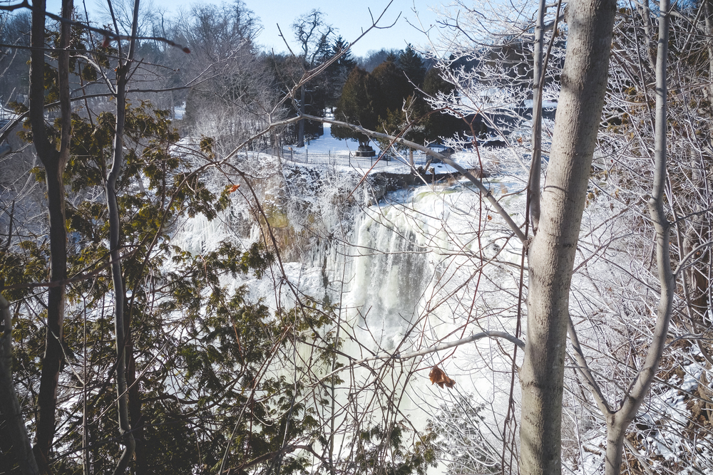Waterfalls, featuring: WINTER