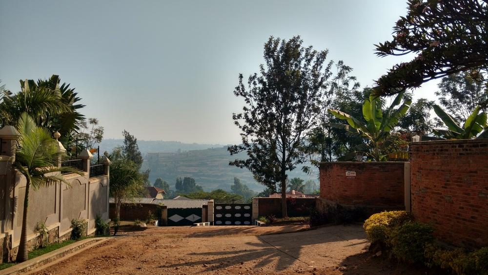 View down a street in Kacyiru
